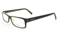 PRADA PR07E Stainless Steel/ZYL Full Rim Unisex Optical