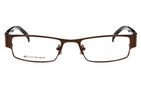 Poesia 6617 Stainless Steel Mens&Womens Full Rim Optical Glasses
